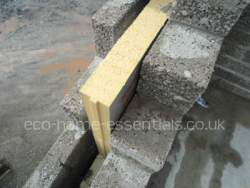 A wider cavity is the only way of fitting more insulation into traditional constructed walls.