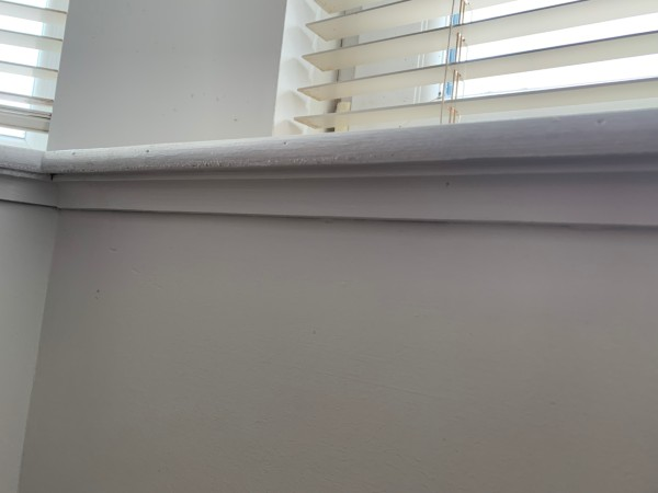 Below Window Sill Gap