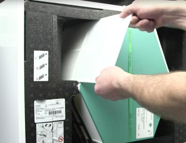 Essential filter change ensures maximum efficiencies