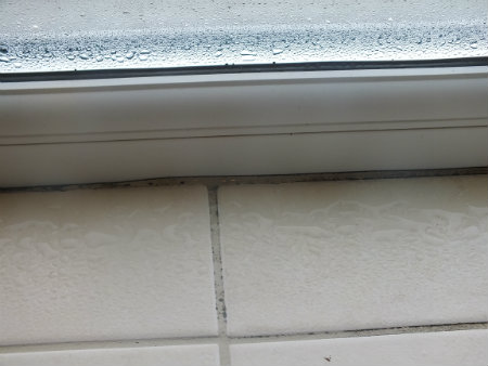 Why do double glazed windows get condensation on the inside