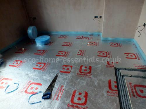 Foil Backed Rigid Floor Insulation