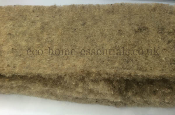 Sheep Wool Insulation for Horizontal Applications