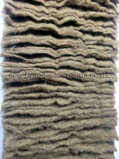 Sheep's Wool Insulation for Vertical Applications