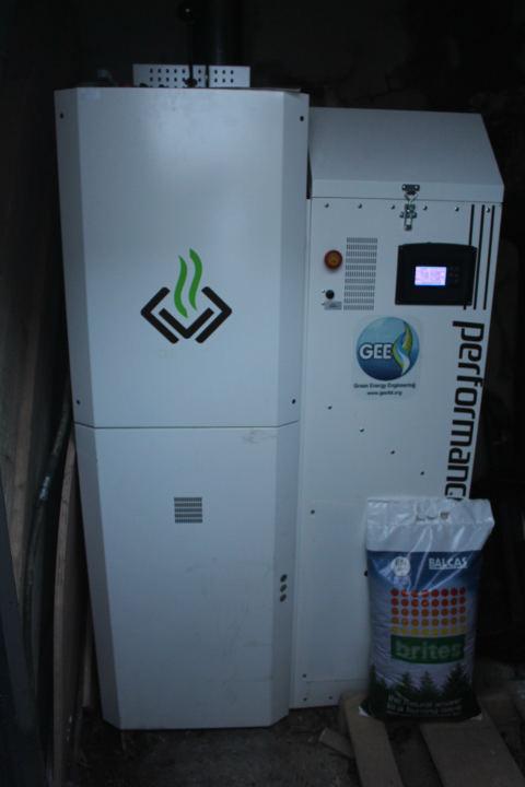 Slimpel 25 Wood Pellet Boiler