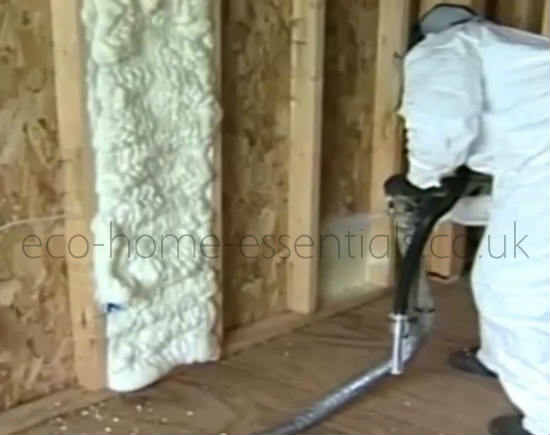 Expanding Foam Insulation For cavities