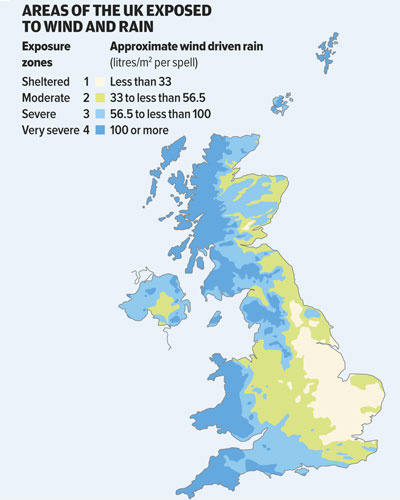 Wind Exposure Map
