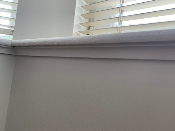 Below Window Sill Gap