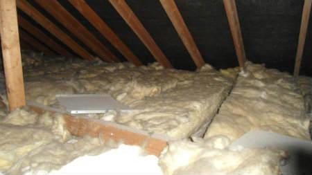 Loft Insulation Laid Incorrectly
