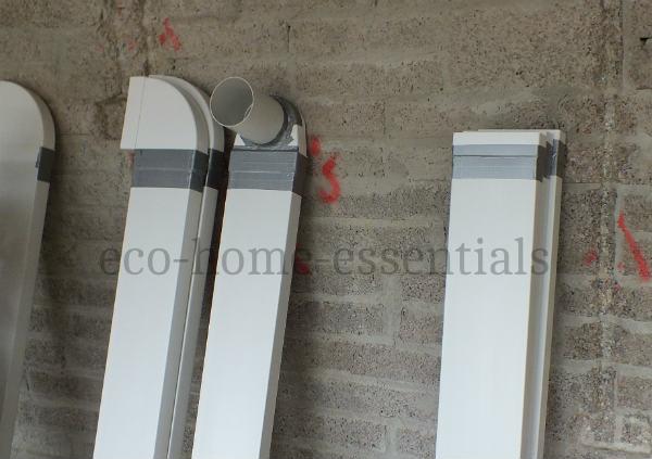 Rectangular MVHR ducting