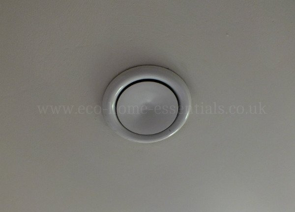 Room Vents for MVHR systems need to be located and adjusted correctly.