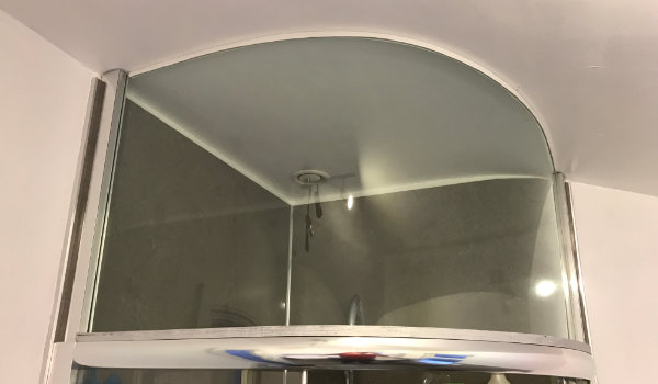 My DIY shower extension that solved my condensation issues completely.