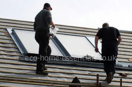 flat panel solar panel
