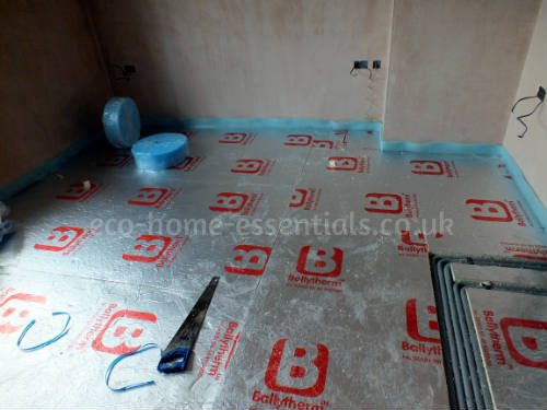 Foil Backed Rigid Floor Insulation